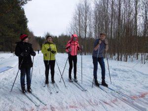Школьные лыжные гонки среди 5-9 классов