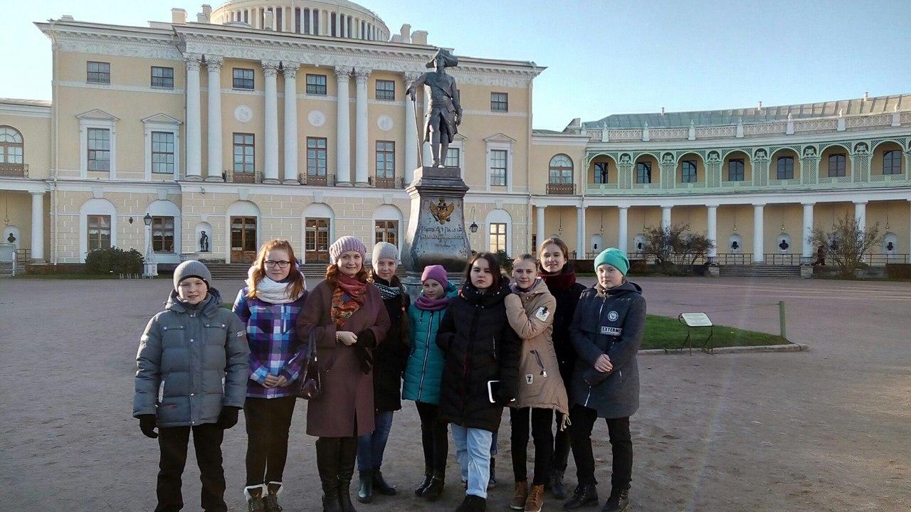 Поездка в Санкт-Петербург с 23 октября по 27 октября 2017