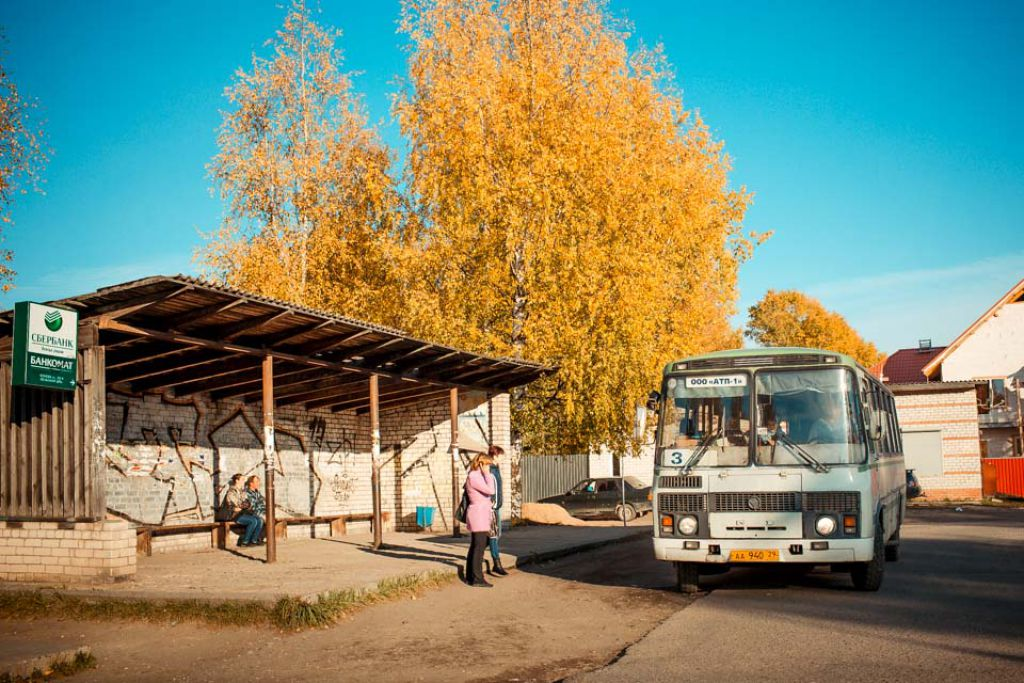 Полное расписание автобусов в городе Вельске и Вельском районе
