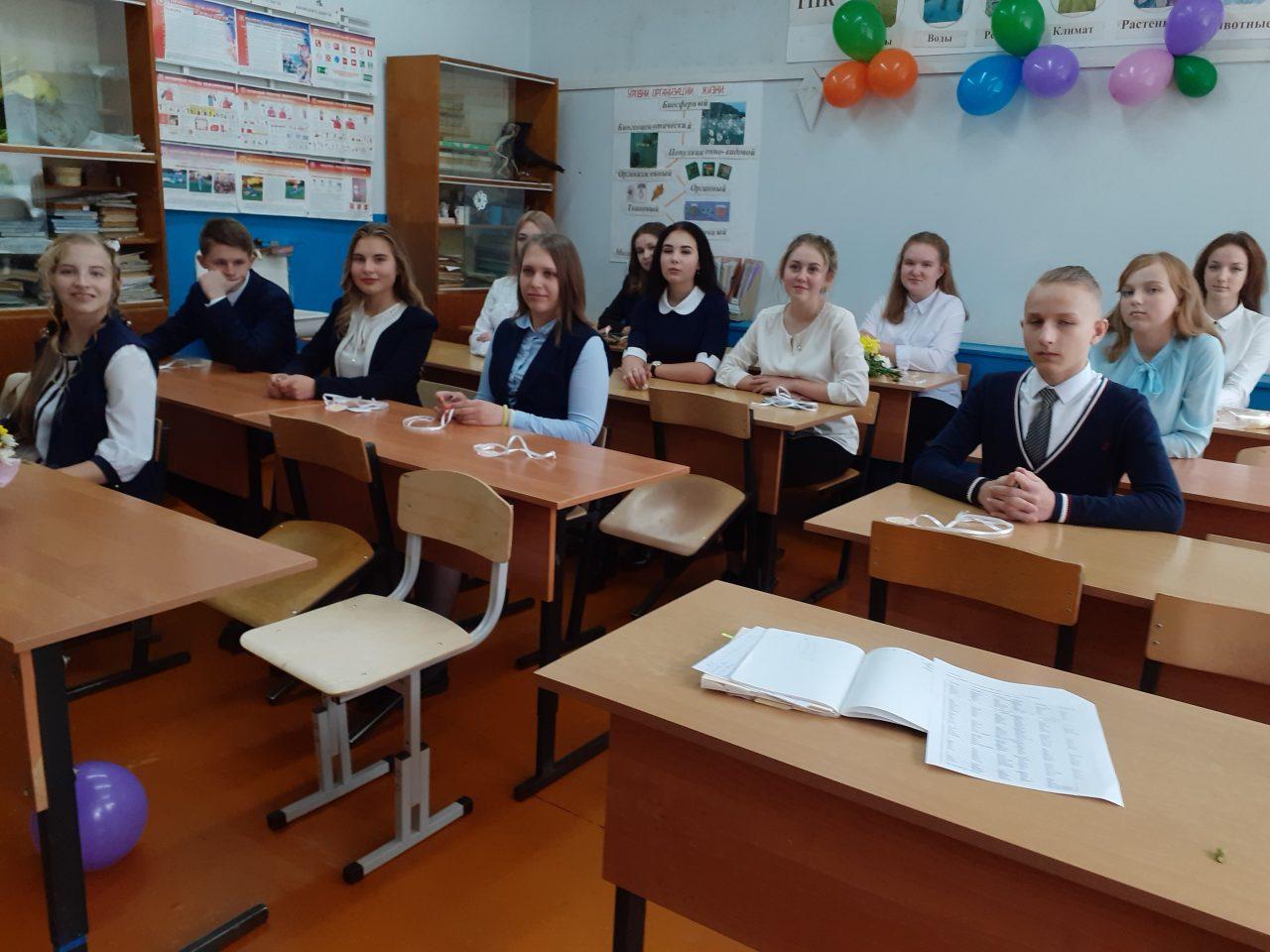 В День памяти жертв Беслана в школе прошли классные часы